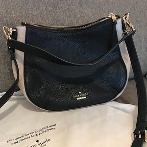 Late Spade Crossbody Bag